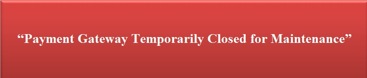 Notice of Temporary Closing for Payment Gateway System Maintenance : Pay Social Service (Pay.sn)